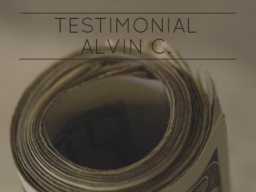 Testimonial by Alvin C image